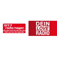 Logo of radio station 107.7 Radio Hagen - Dein Love Radio