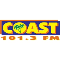 Logo of radio station KSTT Coast 101.3