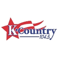 Logo de la radio WKAK K Country 104.5