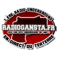 Logo of radio station RadioGansta