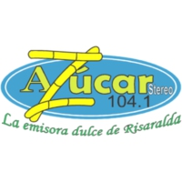 Logo of radio station Azúcar Estéreo 104.1 FM