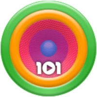 Logo of radio station 101.ru - House