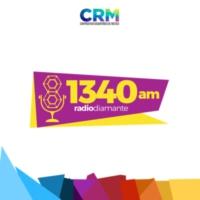 Logo of radio station XEMT-AM Radio Diamante 1340