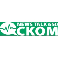 Logo of radio station CKOM