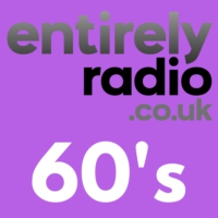 Logo of radio station Entirely Radio 60's
