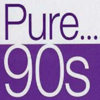 Logo of radio station Pure 90s