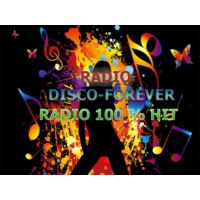 Logo of radio station disco-forever
