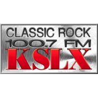 Logo of radio station KSLX