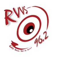Logo of radio station RVVS 96.2 FM