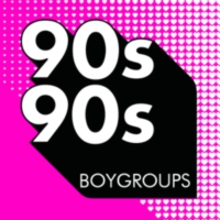 Logo of radio station 90s90s - Boygroups