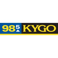 Logo of radio station 98.5 KYGO