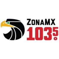 Logo of radio station KISF Zona MX 103.5 FM