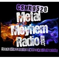 Logo de la radio CSNX-9520: Metal Meyhem Radio
