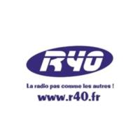 Logo of radio station R40