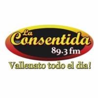 Logo de la radio La Consentida 89.3 fm