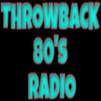Logo of radio station Throwback 80's Radio