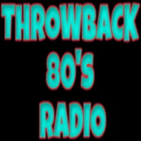 Logo of radio station Throwback 80's Radio
