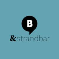 Logo of radio station & Strandbar. Von barba radio
