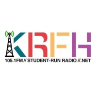 Logo of radio station KRFH 105.1 FM