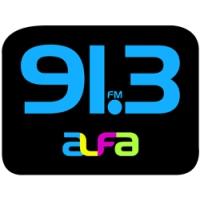 Logo de la radio Alfa 91.3