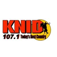 Logo of radio station 107.1 KNID