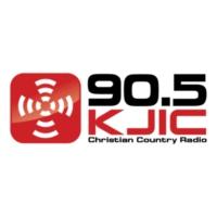 Logo of radio station 90.5 KJIC