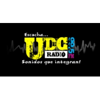 Logo of radio station UDeC Radio