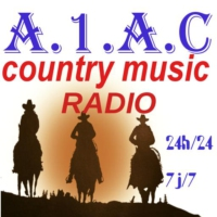 Logo of radio station A1AC country music radio