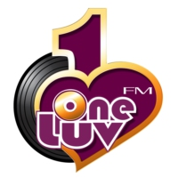Logo of radio station OneLuvFM