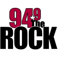 Logo of radio station 94.9 The Rock FM
