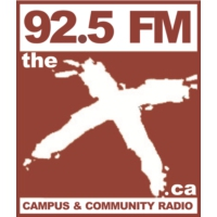 Logo of radio station 92.5FM The X