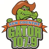 Logo de la radio WGTR Gator 107.9