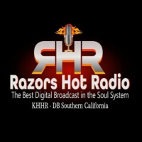 Logo of radio station Razors Hot Radio  KHHR-DB Adelanto Ca.