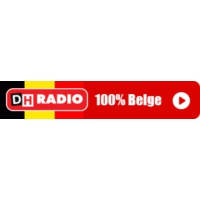 Logo of radio station DH Radio 100% Belge