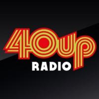Logo of radio station 40UP Radio