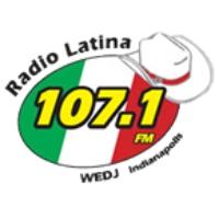 Logo of radio station WEDJ Radio Latina 107.1