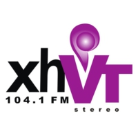 Logo of radio station XEVT 104.1 fm