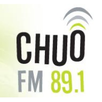 Logo of radio station CHUO
