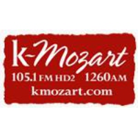 Logo of radio station KMZT kMozart 105.1