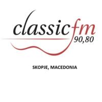 Logo of radio station Classic FM Skopje