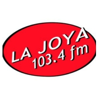 Logo of radio station La Joya 103.4 FM