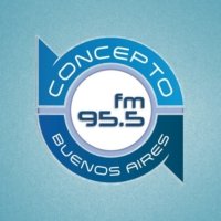 Logo of radio station Concepto FM 95.5