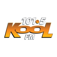 Logo of radio station 101.5 Kool FM