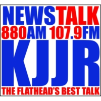 Logo of radio station KJJR 880 AM