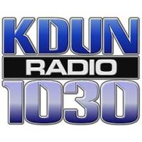 Logo of radio station KDUN AM 1030