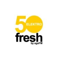 Logo of radio station 50fresh ELEKTRO - by egoFM