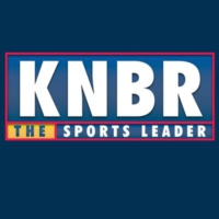 Logo of radio station KNBR