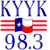 Logo of radio station KYYK 98.3 FM