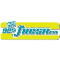 Logo of radio station CKNG Fresh FM 92.5