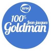 Logo of radio station RFM 100% Jean-Jacques Goldman